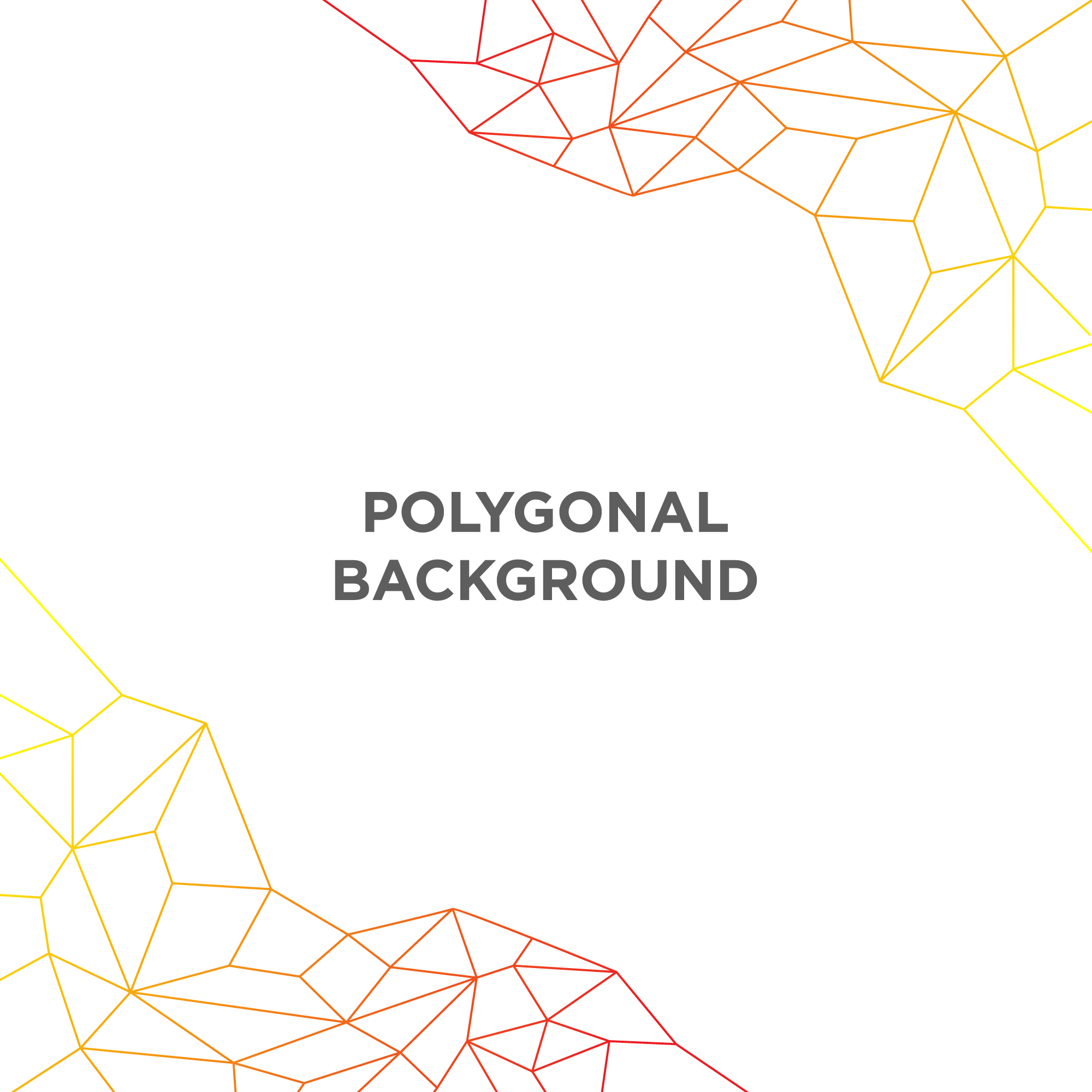 Simple polygonal background