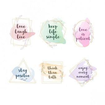 Simple quotes design