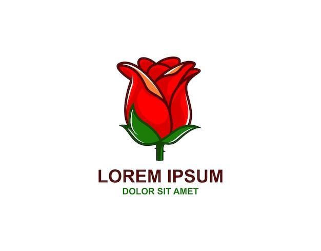 간단한 로즈 로고