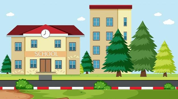 A simple school