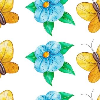 간단한 봄 패턴