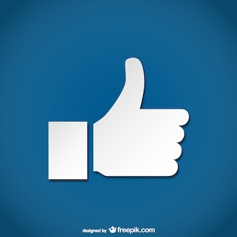 Simple thumbs up icon
