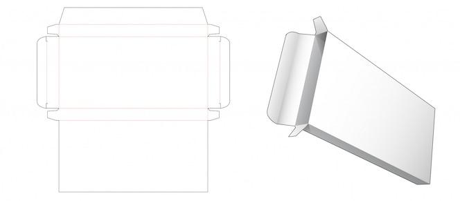 간단한 주석 상자 다이 컷 템플릿