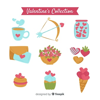 Simple valentine elements pack