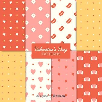 Simple valentine's day pattern