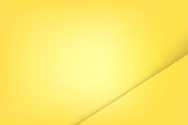 Простой векторный шаблон blan желтая и мягкая тень для вашей части или элемента дизайна