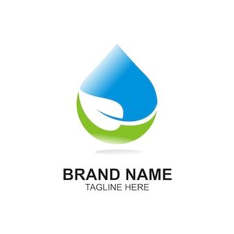 Simple water logo