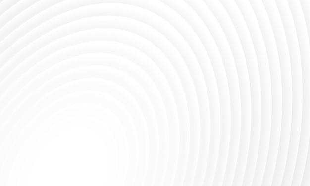 シンプルな白い円の背景。広告、リーフレットのパターン。