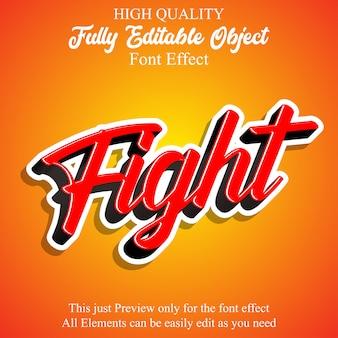 Simplescript editable font effect