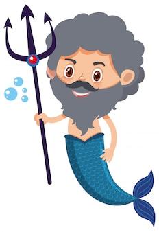 Single character of merman