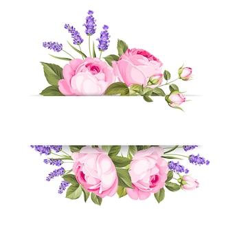 Single rose card.