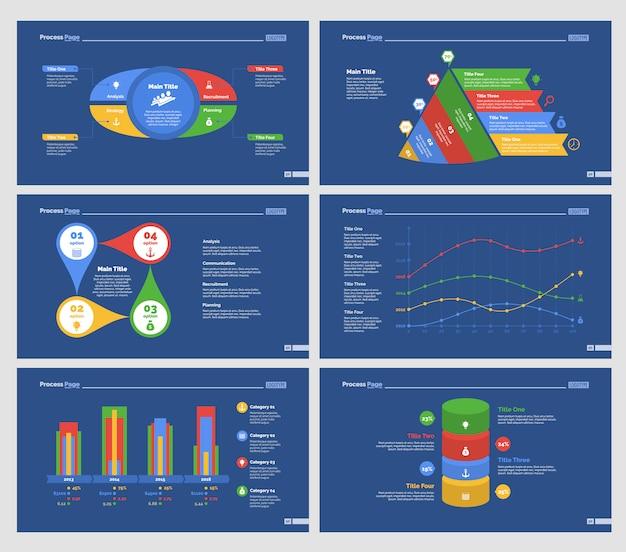 Набор шаблонов слайдов google analytics