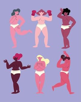 여섯 명의 유방암 투사