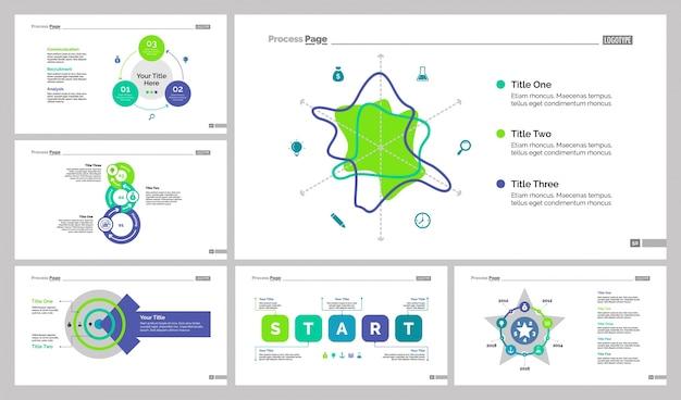 Шесть шаблонов бизнес-слайдов