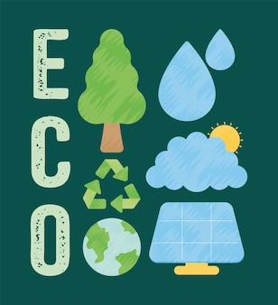 Шесть эко-иконок