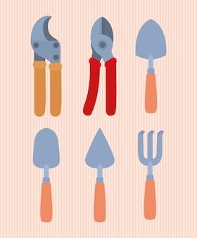 여섯 가지 정원 도구