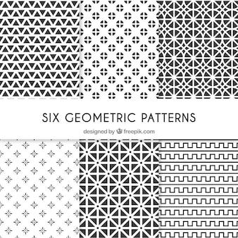 여섯 가지 기하학적 패턴
