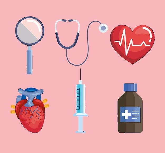 Six hypertension elements