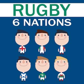Six nations card.