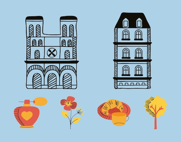 Шесть символов страны париж