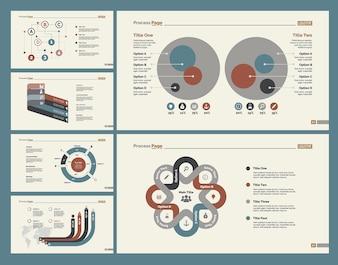 Six Planning Charts Slide Templates Set