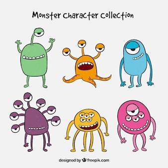 몬스터 캐릭터 6 종