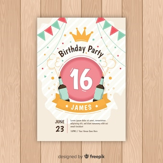 Sixteen birthday beers card