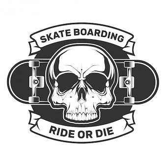 Skate boarding. ride or die.