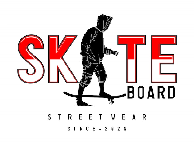 スケートボードのデザイン