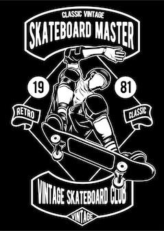 Skateboard master poster
