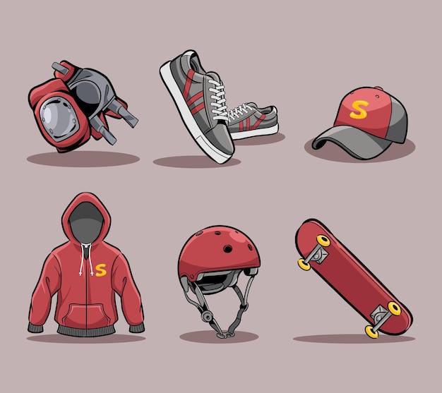 スケートボードツールセットコレクション