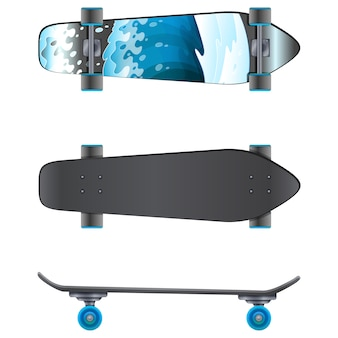 Raccolta skateboards