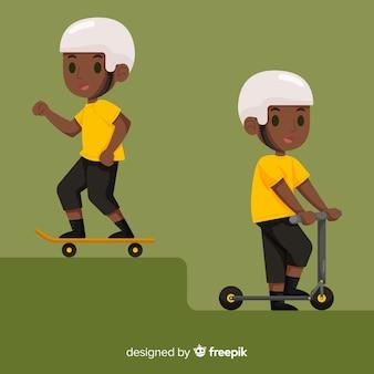 Collezione skater boy