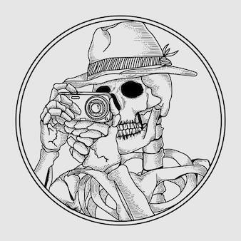 Skeletal tourists