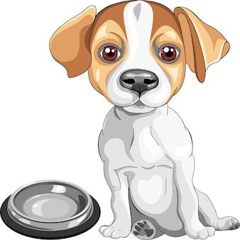 Набросок собака джек рассел терьер порода