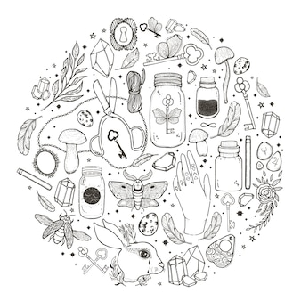 Sketch graphic illustration