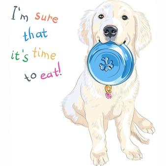 座ってスケッチ子犬犬の品種ラブラドールレトリバー座って