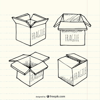 drawn box vectors photos and psd files free download