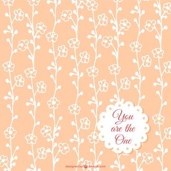 無料の花のシームレスなパターン