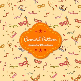 Sketches carnival pattern