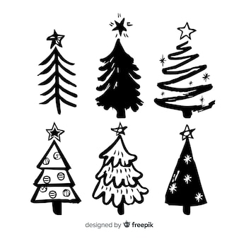 Sketches christmas tree collection