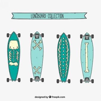 Sketches skateboard moderni
