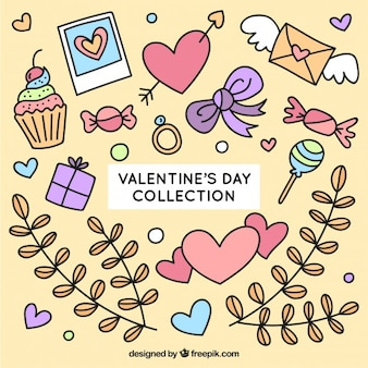Sketches valentine day things