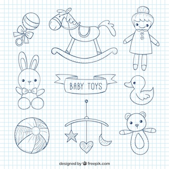 Sketchy baby toys