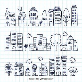 Sketchy buildings