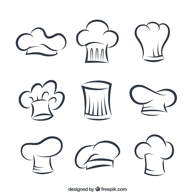 chef hat vectors photos and psd files free download rh freepik com Chef Hat Clip Art Chef Hat 2000 X 900