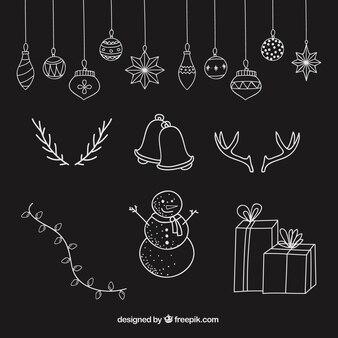 スケッチクリスマスの要素