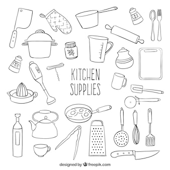 Kitchen Utensils Vectors Photos And Psd Files Free Download