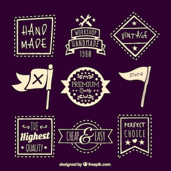 Sketchy quality badges