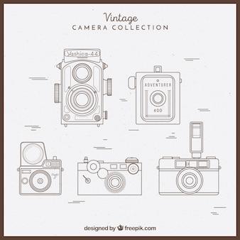スケッチーなヴィンテージカメラコレクション